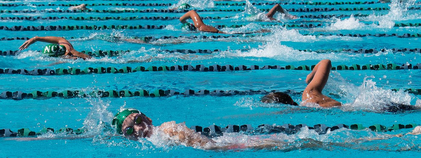 nca swim meet results